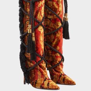 Versace Pillow Talk Wild Baroque Boots size 36 🔥